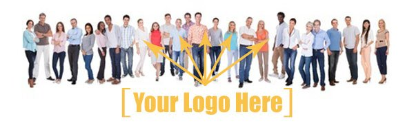 Logo branded clothing and t-shirts