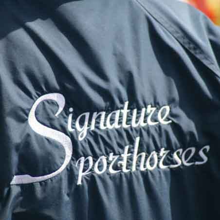 Custom Embroidered Logo Equestrian Jackets